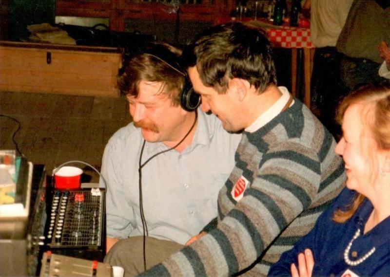 Zbigniew Klewiado (pierwszy z lewej) Fot. archiwum Zbigniewa Klewiado