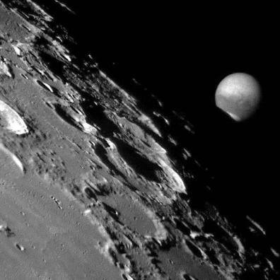 Zakrycie Marca przez Księżyc z dnia 24.07.2003 roku, fot. Ron Dantowitz