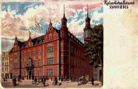 Poczta w 1910 r.