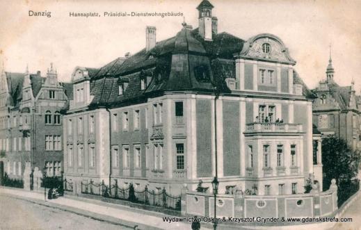 Rezydencja Prezydenta Rejencji, w okresie międzywojennym zamieszkiwał ją Prezydent Senatu.