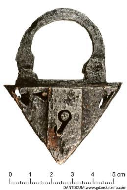 Kłódka, XVII w.