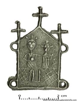 Plakietka maryjna, 2. poł. XIV-XV w.