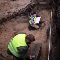archeolodzy przy pracy