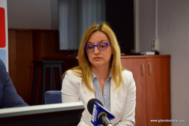 Przewodnicząca Komisji Zagospodarowania Przestrzennego w Radzie Miasta Agnieszka Owczarczak