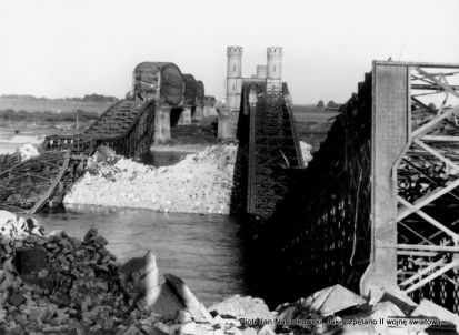 Wysadzone mosty w Tczewie 1 września 1939
