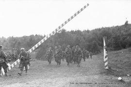 Wehrmacht przekracza granicę z Polską w dniu 1 września 1939 r.