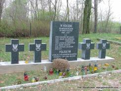 Cmentarz wojenny we wsi Szubienice