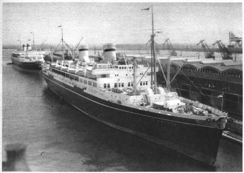 ms Batry i ms Piłsudski w Gdyni