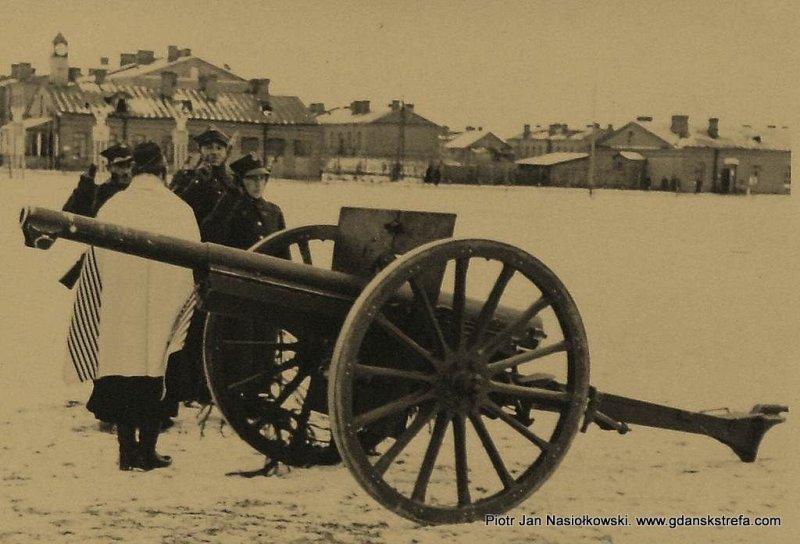 Przysięga wojskowa składana we Włodzimierzu Wołyńskim przez artylerzystów pochodzenia żydowskiego