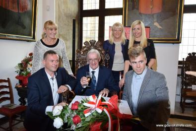 Stanisław Michel z rodziną