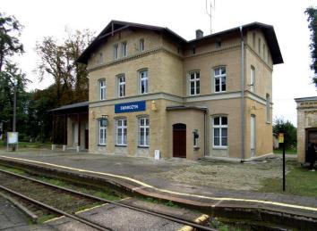 Swarożyn dworzec kolejowy stan 2017