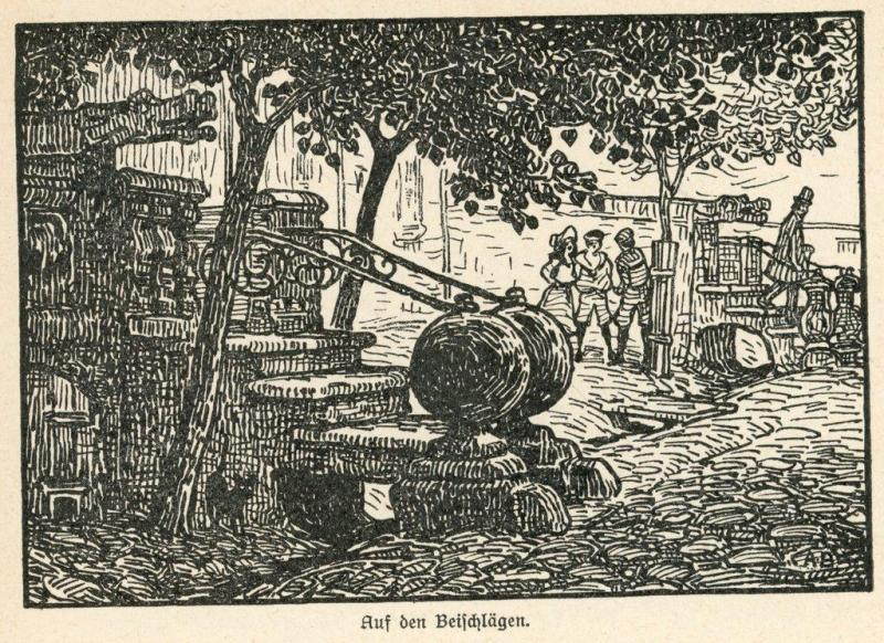 Przedproża, ilustracja Artura Bendrata