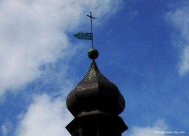 wietrznik kościoła w Św. Wojciechu