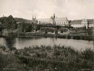 Staw Palac Opatów w 1898