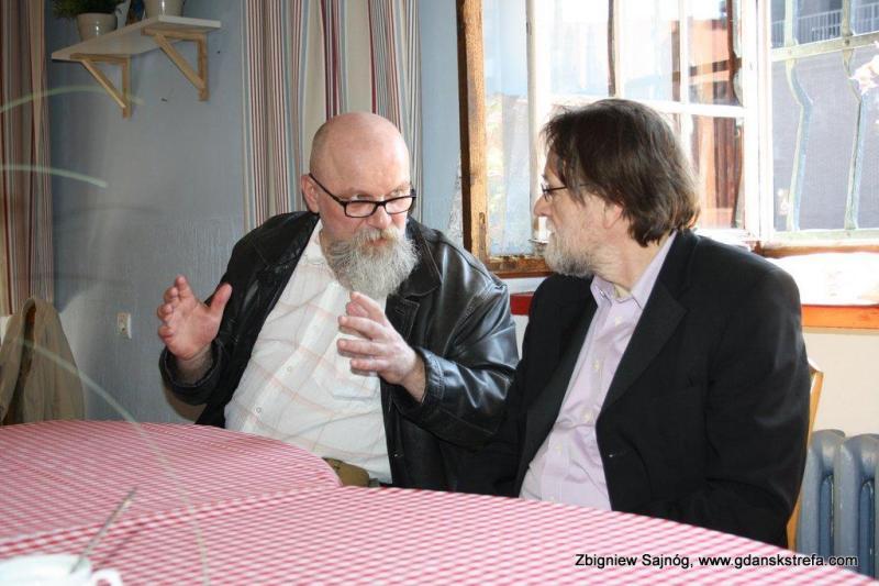 Zbigniew Stybel i Ryszard Docent Czajkowski