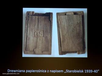 papierośnica z napisem Starobielsk