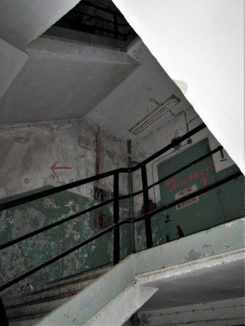 hala u-bootów wewnątrz
