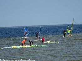 Miłośnicy windserfingu
