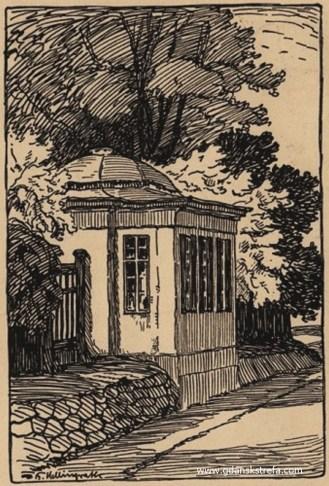 Berth Hellingrath - Altana ogrodowa Dworu I