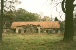Krzyszkowice dwór ruina