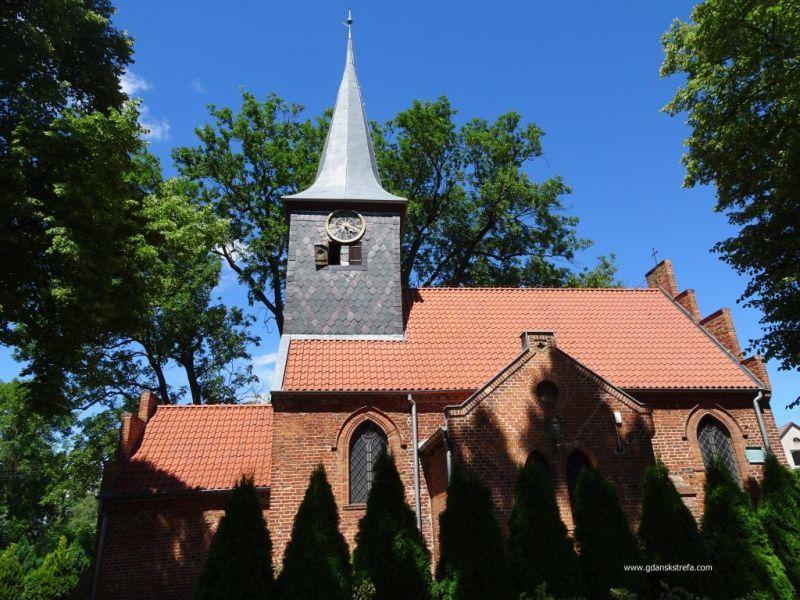 Krzywe Koło, kościół pw. Znalezienia Krzyża Świętego