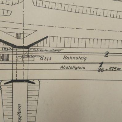 Mapa przystanku Zaroślak 1940 mała