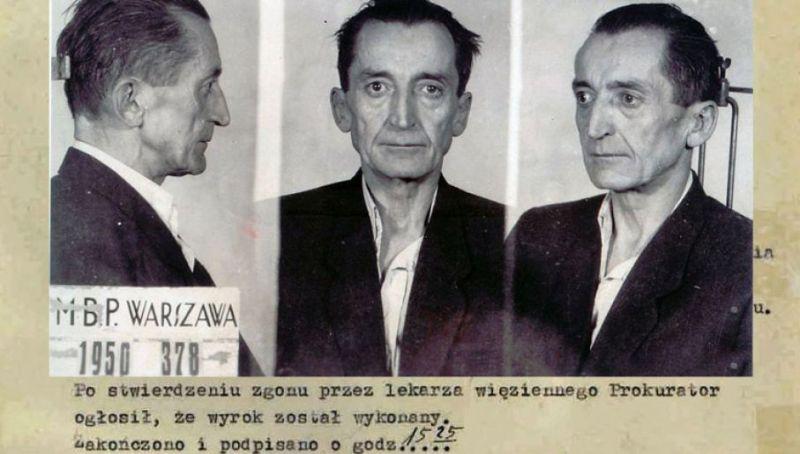 """Generał August Emil Fieldorf """"Nil"""" w dokumentach UB."""