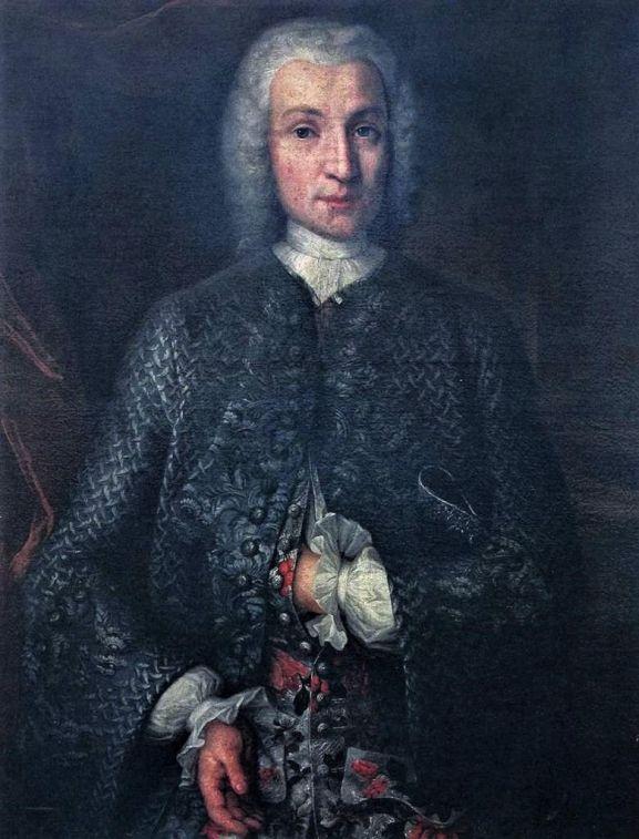 Jan Adam Kulmus; mal. J. Wessel, Gdańsk 1740 r.