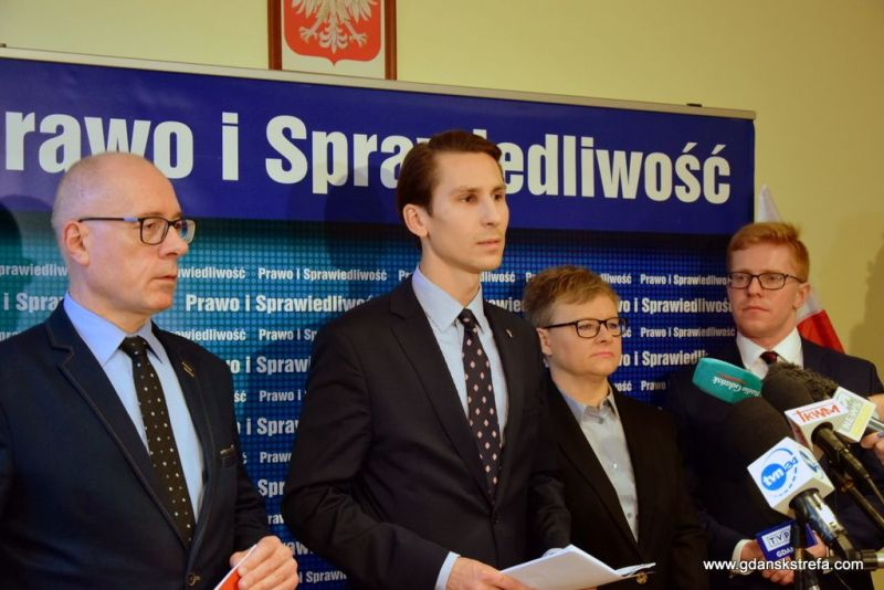 Konferencja prasowa w sprawie dyrekcji ECS