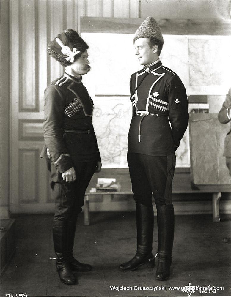 Ataman Annenkov, dowódca Pułku Kozaków Syberyjskich w czasie wojny domowej w Rosji.