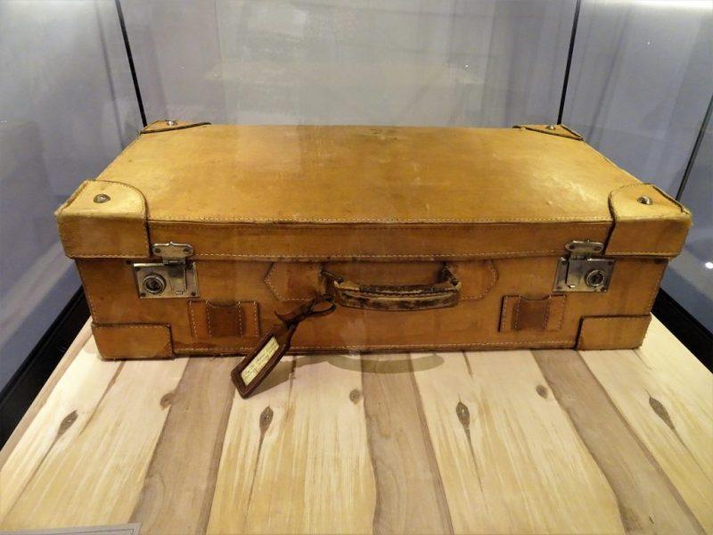 skórzana walizka Antoniego Liedtke