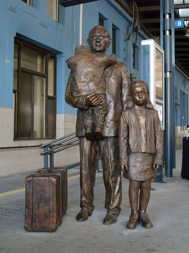 Kindertransport Praga/Wikipedia