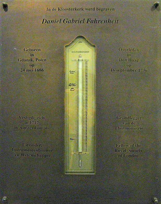 tablica Kloosterkerk