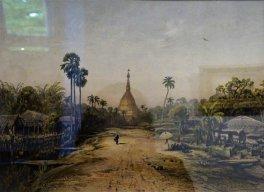 "Eduard Hildebrandt ""Rangun. Złota Pagoda"""