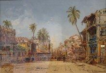 """Eduard Hildebrandt """"Ulica w Bombaju"""""""
