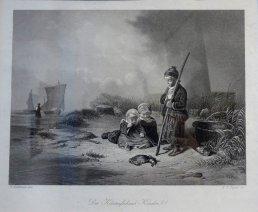 """Eduard Hildebrandt """"Dzieci na wybrzeżu"""""""