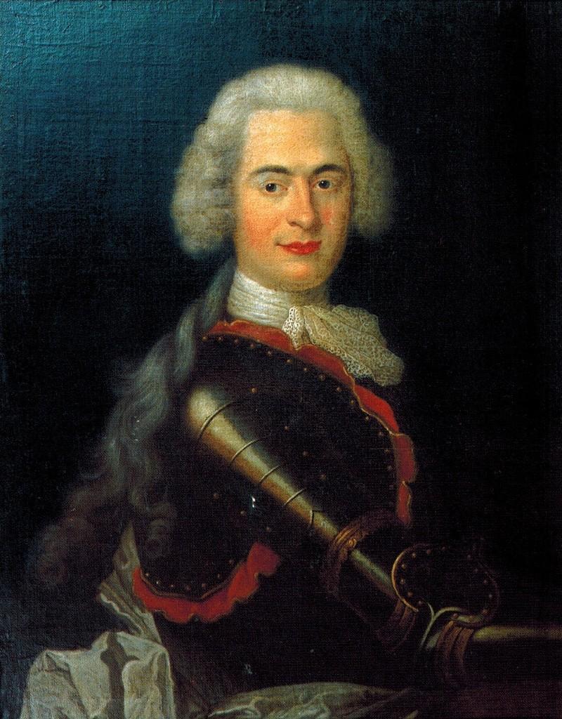 Hrabia de Plélo, pocz XIII w., własność prywatna hrabiego Erica de Lorgeril