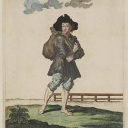 gdańscy wywoływacze - handlarz miałkim piaskiem