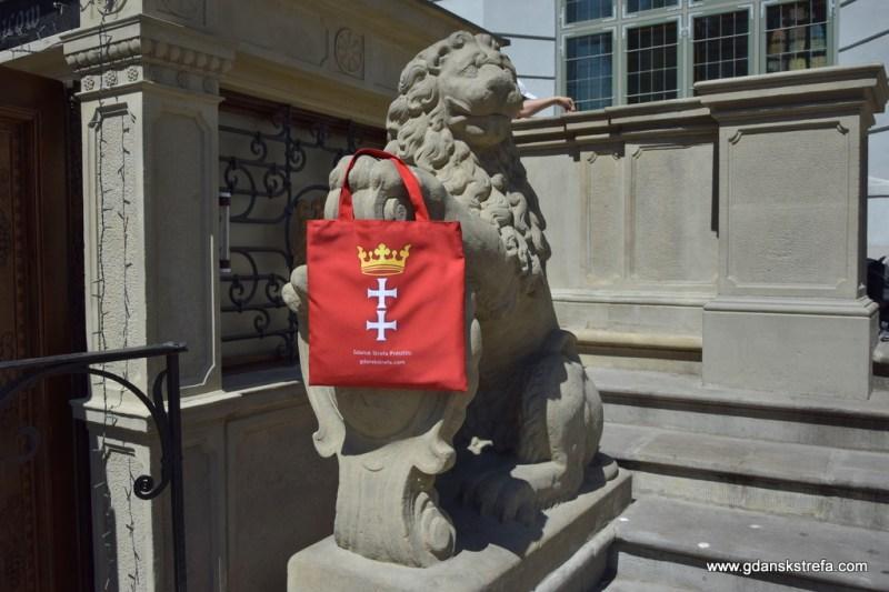 torba z herbem Gdańska