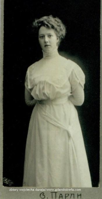 Johanna Czachowski ok. 1909 r.