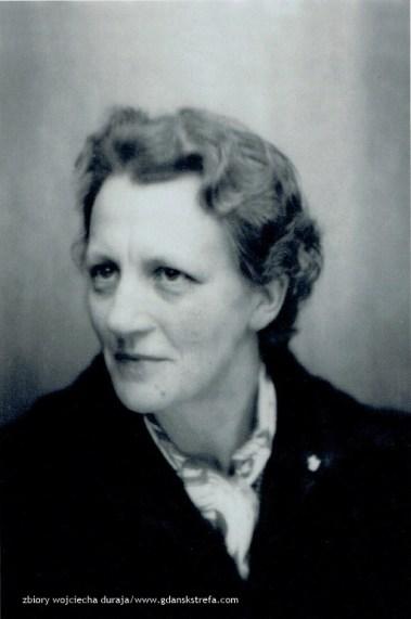 Hildegard Zwickel w 1952 r.