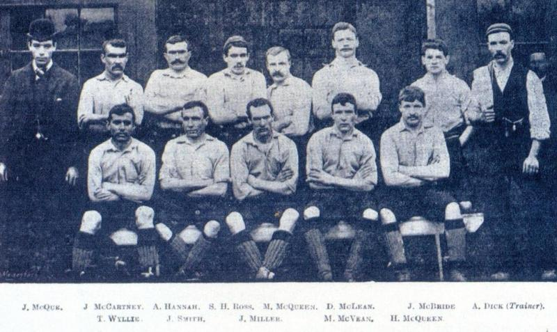 Zespół Liverpoolu podczas pierwszego sezonu 1892–93
