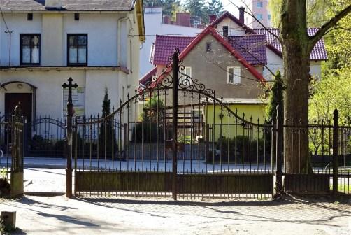Evangelischer Friedhof II, brama