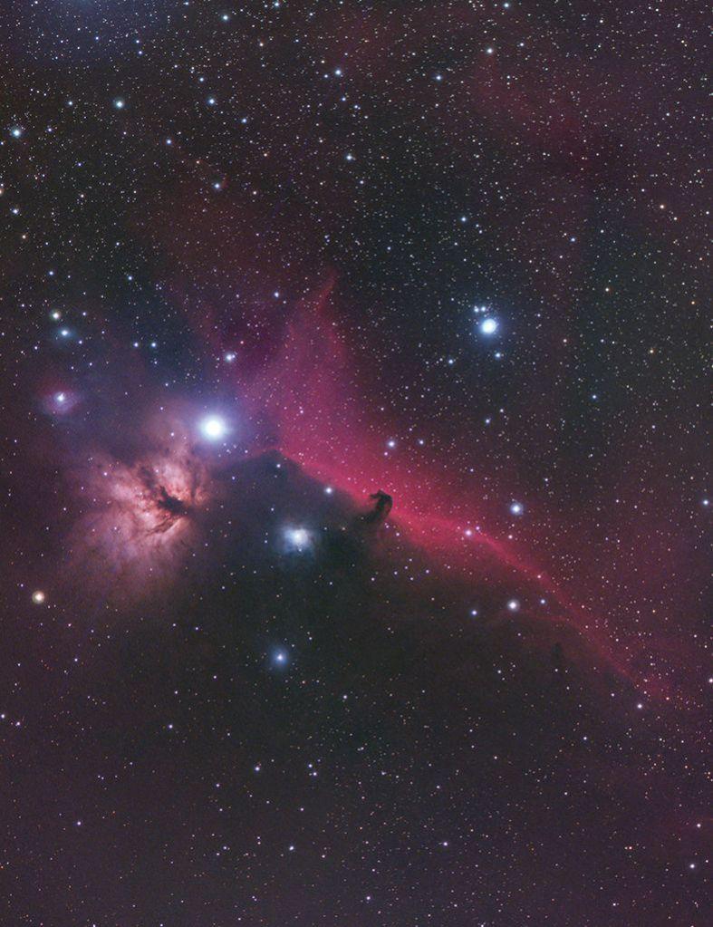 Mgławica Koński Łeb w Orionie