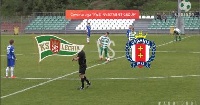IV liga: Lechia pokonała Gedanię Gdańsk 3:0 [skrót wideo]
