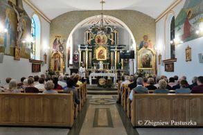 Wnętrze kościoła w Polańczyku