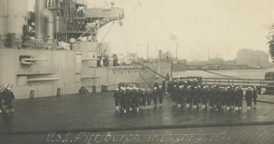 """""""Ani jednego naboju dla pańskiej Polski"""" – USS Pittsburgh w Gdańsku"""
