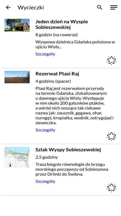 """Aplikacja """"Wyspa Sobieszewska"""""""