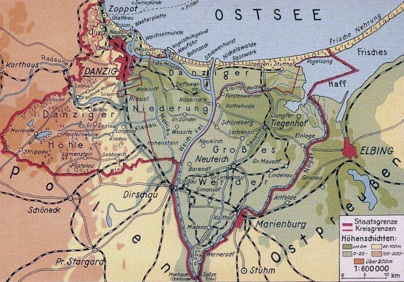 Granice Wolnego Miasta Gdańska