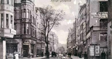 Ulica Świętego Ducha – Obrazki gdańskie